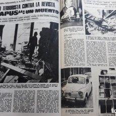 Coleccionismo de Revistas y Periódicos: ATENTADO TERRORISTA EN LA REVISTA EL PAPUS . Lote 114943987