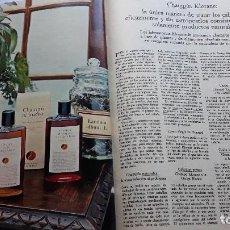 Coleccionismo de Revistas y Periódicos: ANUNCIO CHAMPU KLORANE. Lote 114944775
