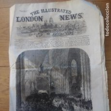 Coleccionismo de Revistas y Periódicos: THE ILLUSTRATED LONDON NEWS 1865. Lote 115051795