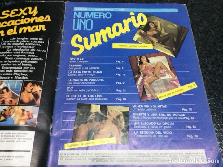 Coleccionismo de Revistas y Periódicos: NUMERO UNO Nº 10 REVISTA EROTICA DE LOS 90 - Foto 2 - 115097499