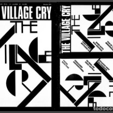 "Coleccionismo de Revistas y Periódicos: THE VILLAGE CRY 7 - ""THE VILLAGE CRY"" NO.7 WAS THE FINAL ISSUE OF THIS UNIQUE MAGAZINE - 1977. Lote 115139043"