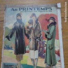 Coleccionismo de Revistas y Periódicos: CATÁLOGO MODA Y OBJETOS AU PRINTEMPS INVIERNO 1925-1926. Lote 115295315