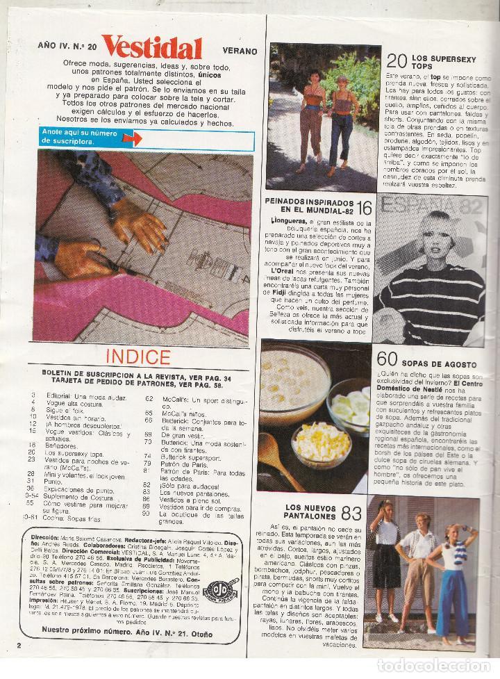 revista vestidal moda y patrones nº 20. los sup - Comprar Otras ...