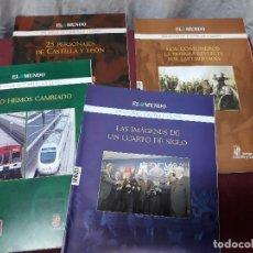 Coleccionismo de Revistas y Periódicos: LOTE 4 REVISTA DE EL MUNDO... 25 AÑOS CASTILLA - LEON... 2008...COMUNEROS, PERSONAJES.... Lote 115344567