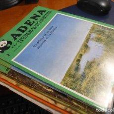 Coleccionismo de Revistas y Periódicos: ADENA, REVISTA ASOCIACION DEFENSA DE LA NATURALEZA, 10 NUMEROS DE 1972-74. Lote 115401211