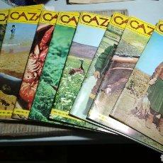 Coleccionismo de Revistas y Periódicos: REVISTA CAZA Y PESCA AÑO 1981. CASI COMPLETO. SÓLO FALTA JULIO. Lote 115414400
