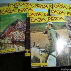Coleccionismo de Revistas y Periódicos: REVISTA CAZA Y PESCA AÑO 1980 COMPLETO. EL FOTOS. Lote 115414859