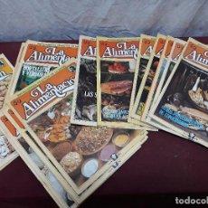 Coleccionismo de Revistas y Periódicos: LOTE 19 REVISTAS LA ALIMENTCION... 1982. Lote 115423451