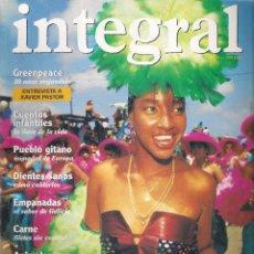 Coleccionismo de Revistas y Periódicos: REVISTA INTEGRAL. 1994 AÑO COMPLETO. 12 EJEMPLARES (169 AL 180) + CALENDARIO 1995 + CATÁLOGO. Lote 115429687