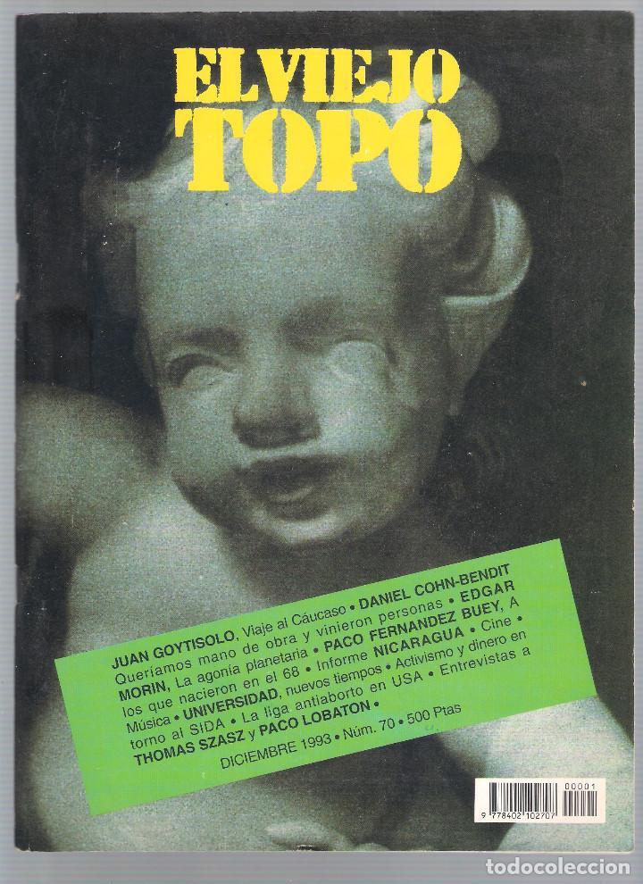 REVISTA EL VIEJO TOPO (2ª ÉPOCA) - AÑO 1993/94 COMPLETO. NÚMEROS 70 A 80 INC. (Coleccionismo - Revistas y Periódicos Modernos (a partir de 1.940) - Otros)