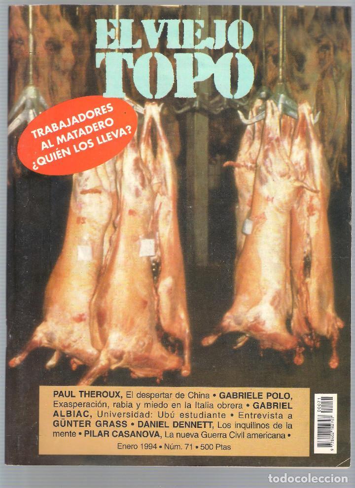 Coleccionismo de Revistas y Periódicos: Revista El Viejo Topo (2ª época) - Año 1993/94 completo. Números 70 a 80 inc. - Foto 2 - 115430663