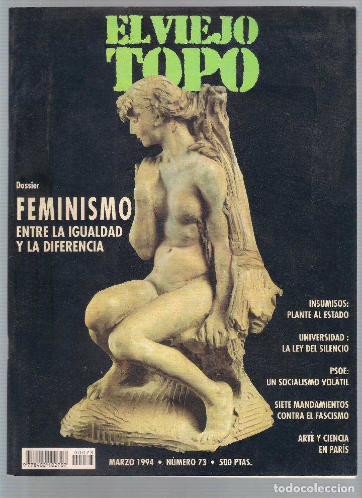 Coleccionismo de Revistas y Periódicos: Revista El Viejo Topo (2ª época) - Año 1993/94 completo. Números 70 a 80 inc. - Foto 4 - 115430663