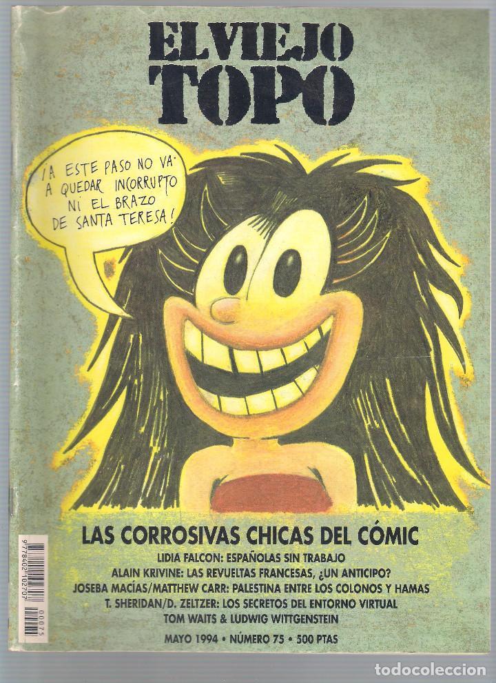 Coleccionismo de Revistas y Periódicos: Revista El Viejo Topo (2ª época) - Año 1993/94 completo. Números 70 a 80 inc. - Foto 6 - 115430663