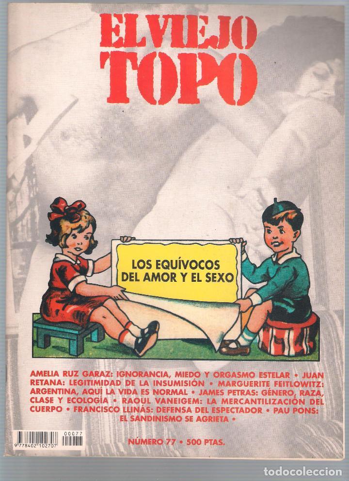 Coleccionismo de Revistas y Periódicos: Revista El Viejo Topo (2ª época) - Año 1993/94 completo. Números 70 a 80 inc. - Foto 8 - 115430663