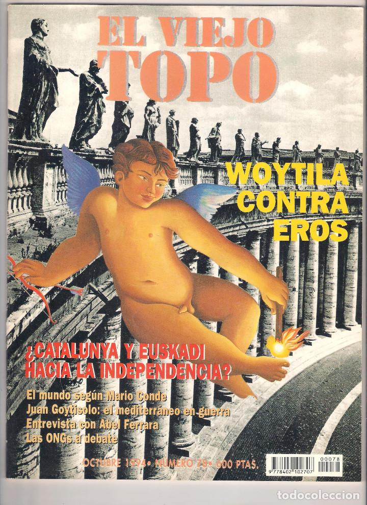 Coleccionismo de Revistas y Periódicos: Revista El Viejo Topo (2ª época) - Año 1993/94 completo. Números 70 a 80 inc. - Foto 9 - 115430663