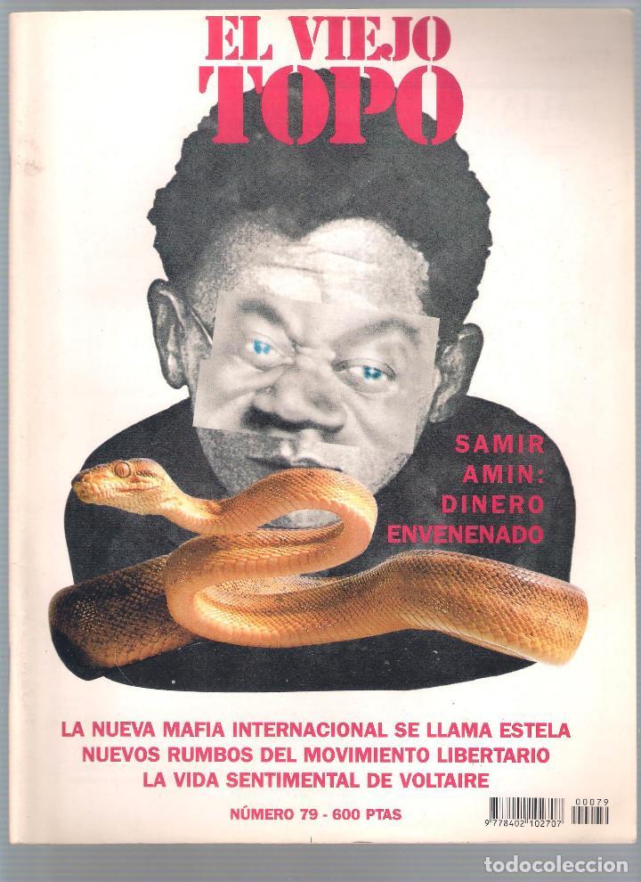 Coleccionismo de Revistas y Periódicos: Revista El Viejo Topo (2ª época) - Año 1993/94 completo. Números 70 a 80 inc. - Foto 10 - 115430663