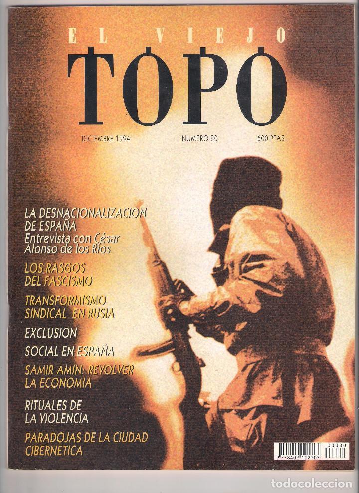 Coleccionismo de Revistas y Periódicos: Revista El Viejo Topo (2ª época) - Año 1993/94 completo. Números 70 a 80 inc. - Foto 11 - 115430663