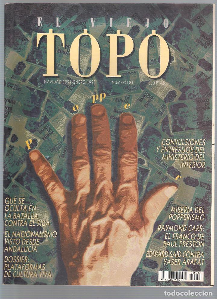REVISTA EL VIEJO TOPO (2ª ÉPOCA) - AÑO 1995 COMPLETO. NÚMEROS 81 A 91 INC. (Coleccionismo - Revistas y Periódicos Modernos (a partir de 1.940) - Otros)