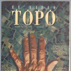 Coleccionismo de Revistas y Periódicos: REVISTA EL VIEJO TOPO (2ª ÉPOCA) - AÑO 1995 COMPLETO. NÚMEROS 81 A 91 INC.. Lote 115430691