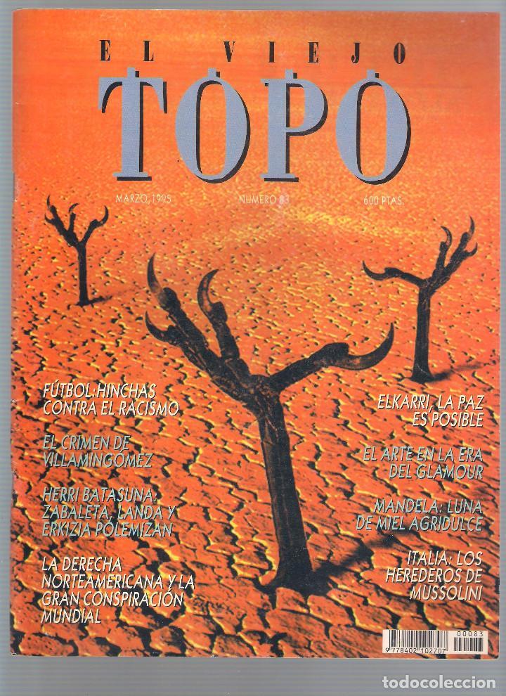 Coleccionismo de Revistas y Periódicos: Revista El Viejo Topo (2ª época) - Año 1995 completo. Números 81 a 91 inc. - Foto 3 - 115430691