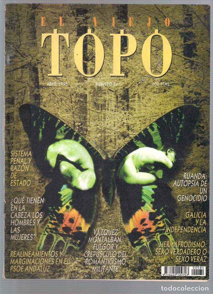 Coleccionismo de Revistas y Periódicos: Revista El Viejo Topo (2ª época) - Año 1995 completo. Números 81 a 91 inc. - Foto 4 - 115430691