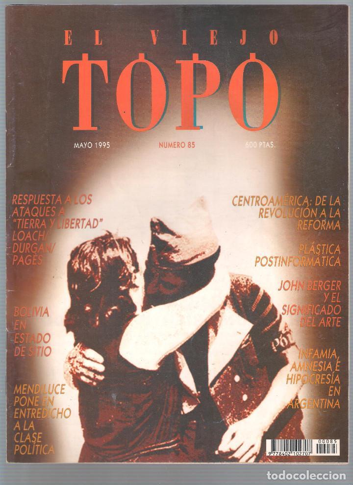 Coleccionismo de Revistas y Periódicos: Revista El Viejo Topo (2ª época) - Año 1995 completo. Números 81 a 91 inc. - Foto 5 - 115430691