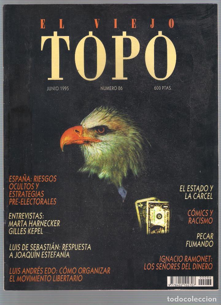 Coleccionismo de Revistas y Periódicos: Revista El Viejo Topo (2ª época) - Año 1995 completo. Números 81 a 91 inc. - Foto 6 - 115430691