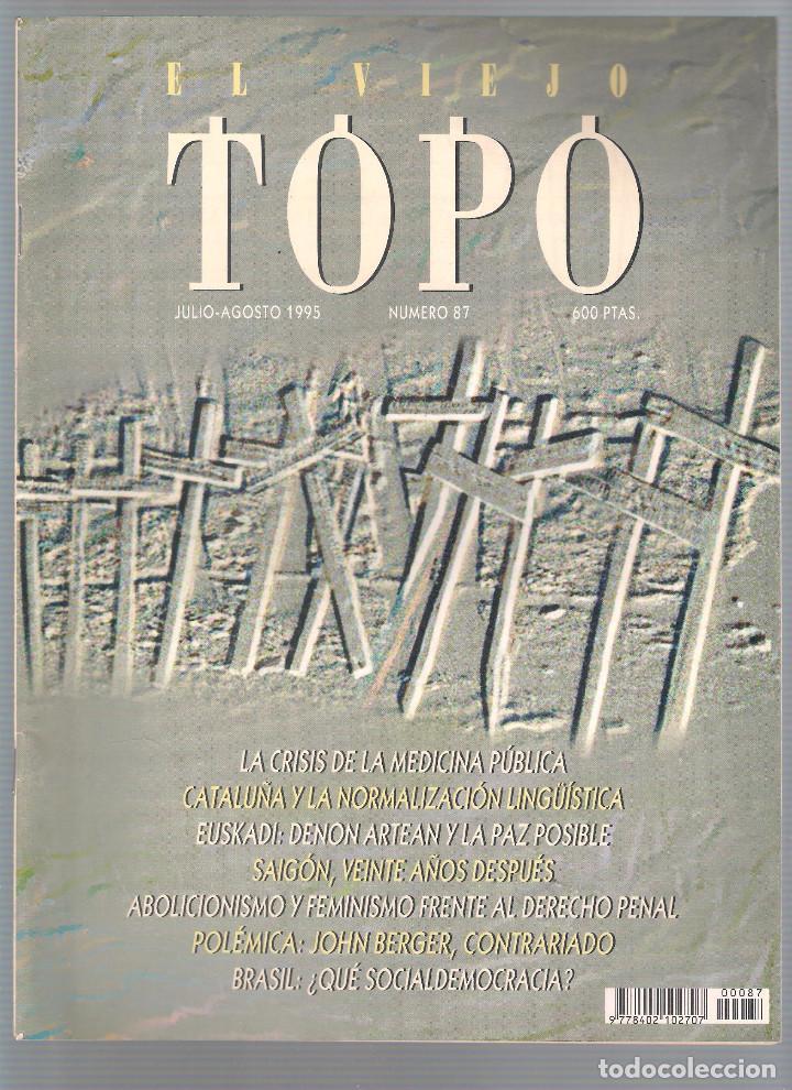 Coleccionismo de Revistas y Periódicos: Revista El Viejo Topo (2ª época) - Año 1995 completo. Números 81 a 91 inc. - Foto 7 - 115430691