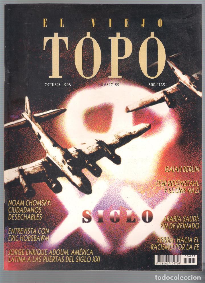 Coleccionismo de Revistas y Periódicos: Revista El Viejo Topo (2ª época) - Año 1995 completo. Números 81 a 91 inc. - Foto 9 - 115430691