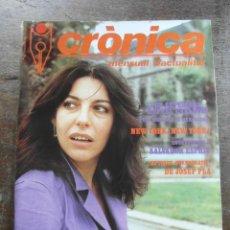 Coleccionismo de Revistas y Periódicos: REVISTA CRONICA Nº 7. SETEMBRE 1982. Lote 115486035