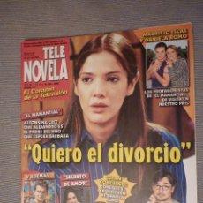 Coleccionismo de Revistas y Periódicos: REVISTA TELENOVELA Nº 484. JULIO 2002. Lote 115489559