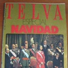 Coleccionismo de Revistas y Periódicos: REVISTA TELVA ESPECIAL NAVIDAD 1975 - TRANSICIÓN - . Lote 115491943