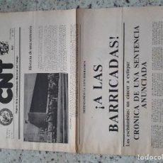 Coleccionismo de Revistas y Periódicos: CNT ORGANO DE LA CONFEDERACION NACIONAL DEL TRABAJO.IV EPOCA MADRID Nº 93 DICIEMBRE 1983.ANARQUISMO . Lote 115500471