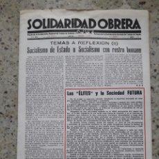 Coleccionismo de Revistas y Periódicos: TRANSICION. SOLIDARIDAD OBRERA. ORGANO DE LA CNT AIT DE CATALUÑA. Nº 8 ENERO 1977 . Lote 115504359