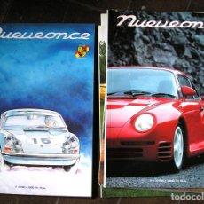 Coleccionismo de Revistas y Periódicos: LOTE 9 NÚMEROS REVISTA NUEVEONCE, AÑOS 1994-97. Lote 115512871