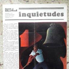 Coleccionismo de Revistas y Periódicos: REVISTA ANARQUISTA TIERRA Y LIBERTAD MEXICO Nº 459 ESTRA 1 DE MAYO 1987. Lote 115516083