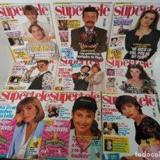 Coleccionismo de Revistas y Periódicos: LOTE DE 9 REVISTAS SUPERTELE 1994 Y 1995. Lote 115516251