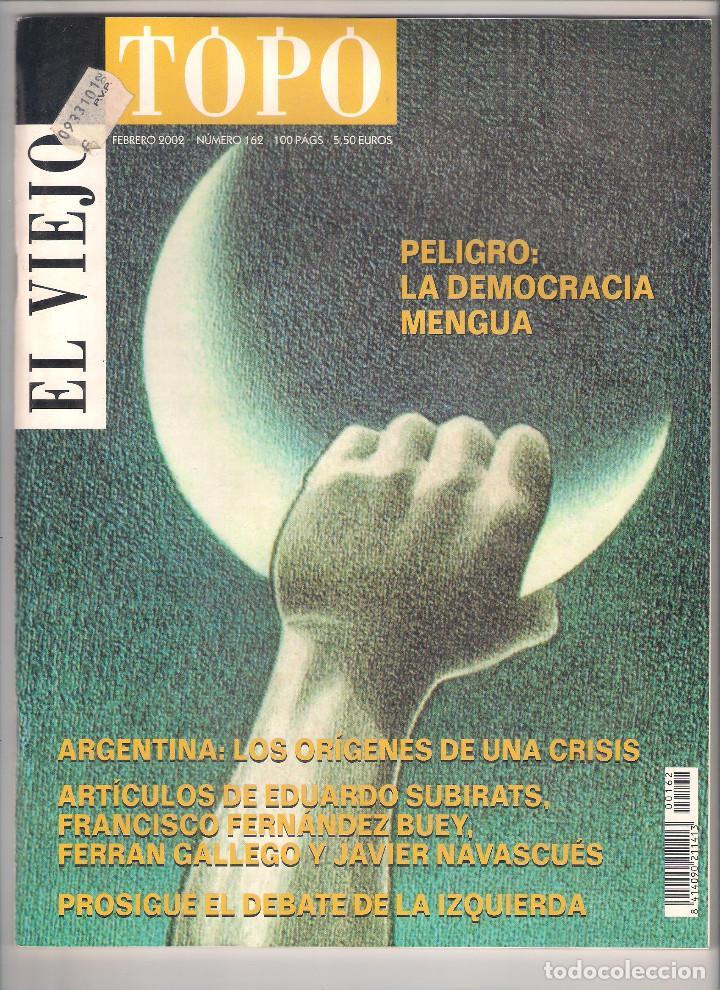 Coleccionismo de Revistas y Periódicos: Revista El Viejo Topo (2ª época) - Año 2002 completo. Números 160 a 173 (11 ejemplares) - Foto 2 - 115528323