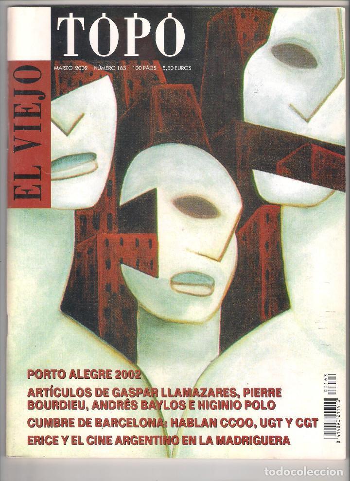 Coleccionismo de Revistas y Periódicos: Revista El Viejo Topo (2ª época) - Año 2002 completo. Números 160 a 173 (11 ejemplares) - Foto 3 - 115528323
