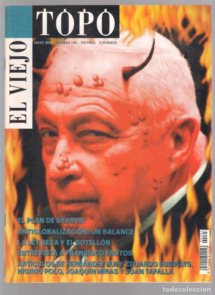 Coleccionismo de Revistas y Periódicos: Revista El Viejo Topo (2ª época) - Año 2002 completo. Números 160 a 173 (11 ejemplares) - Foto 5 - 115528323