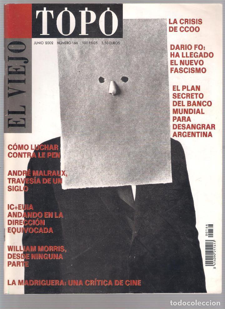 Coleccionismo de Revistas y Periódicos: Revista El Viejo Topo (2ª época) - Año 2002 completo. Números 160 a 173 (11 ejemplares) - Foto 6 - 115528323