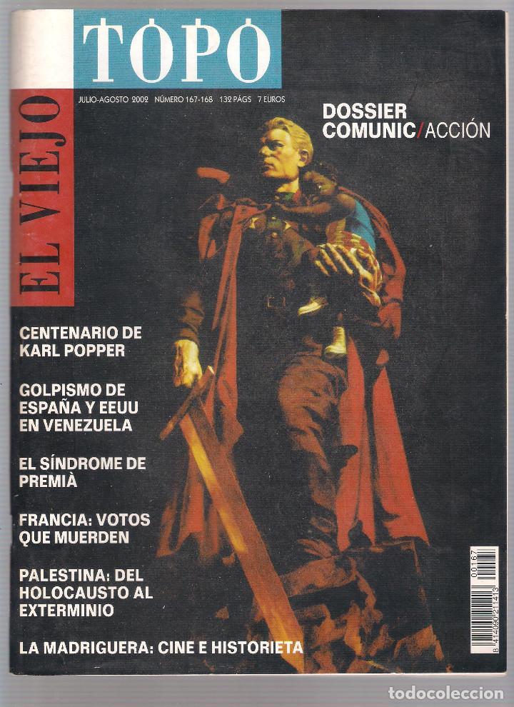Coleccionismo de Revistas y Periódicos: Revista El Viejo Topo (2ª época) - Año 2002 completo. Números 160 a 173 (11 ejemplares) - Foto 7 - 115528323