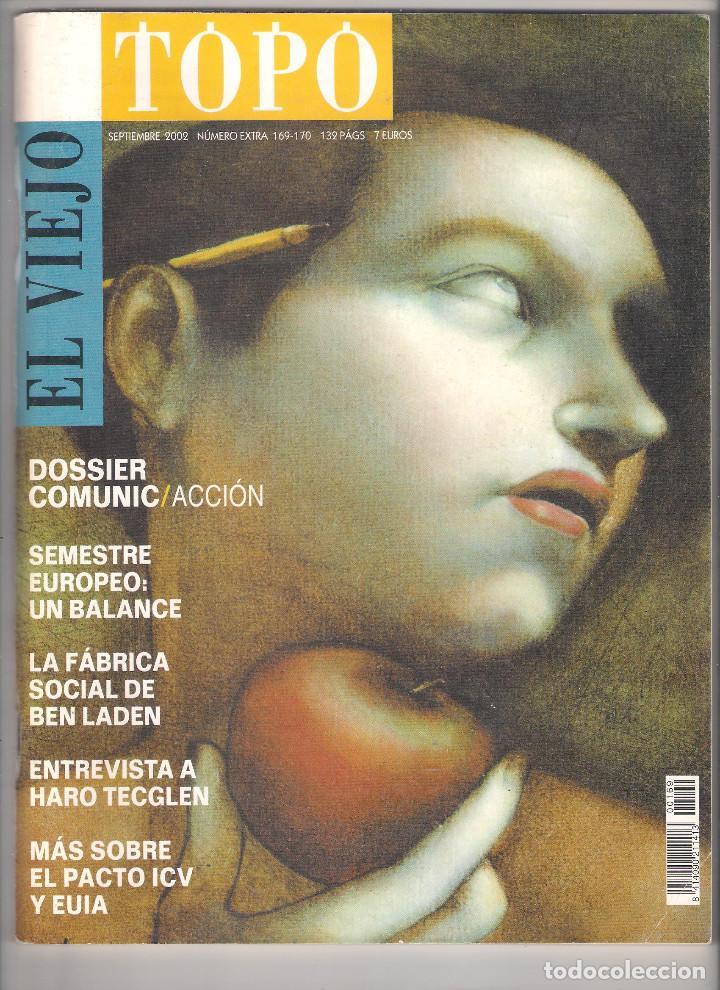 Coleccionismo de Revistas y Periódicos: Revista El Viejo Topo (2ª época) - Año 2002 completo. Números 160 a 173 (11 ejemplares) - Foto 8 - 115528323
