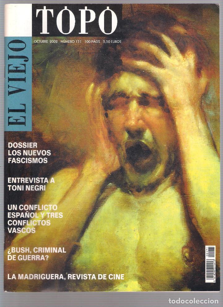 Coleccionismo de Revistas y Periódicos: Revista El Viejo Topo (2ª época) - Año 2002 completo. Números 160 a 173 (11 ejemplares) - Foto 9 - 115528323