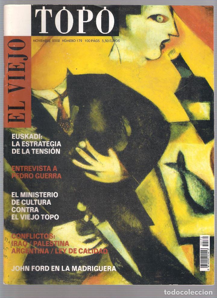 Coleccionismo de Revistas y Periódicos: Revista El Viejo Topo (2ª época) - Año 2002 completo. Números 160 a 173 (11 ejemplares) - Foto 10 - 115528323