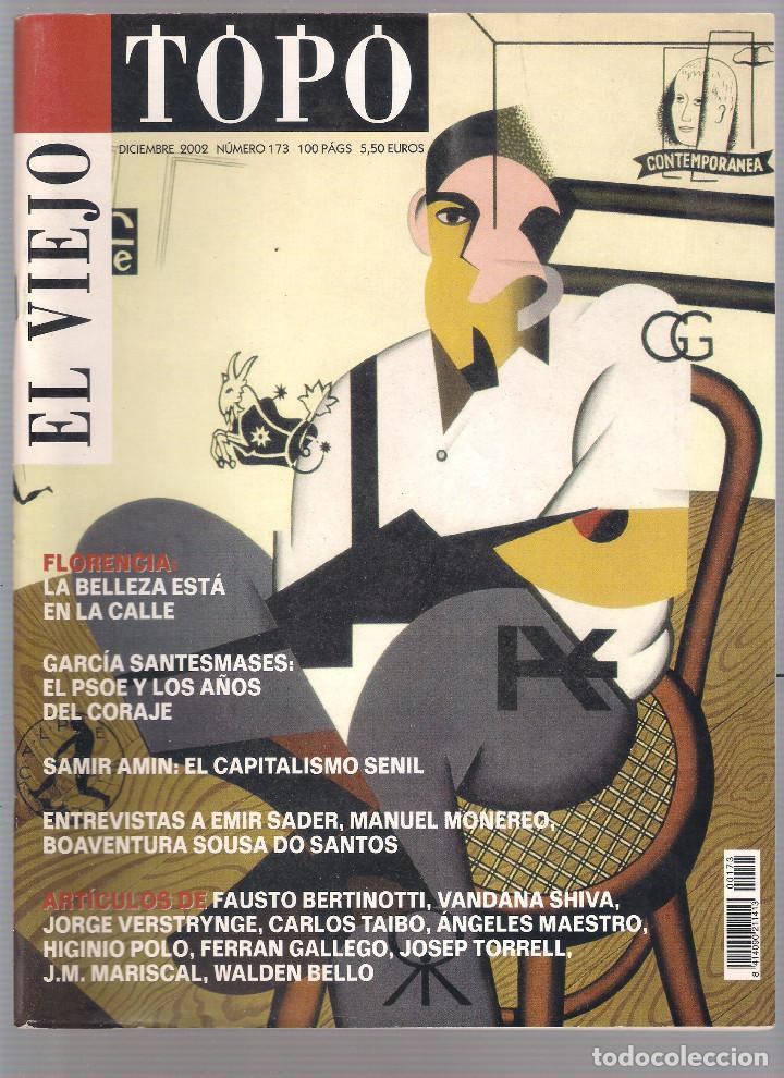 Coleccionismo de Revistas y Periódicos: Revista El Viejo Topo (2ª época) - Año 2002 completo. Números 160 a 173 (11 ejemplares) - Foto 11 - 115528323