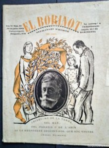 1924 El Borinot. Setmanari d'humor Ángel Guimerà