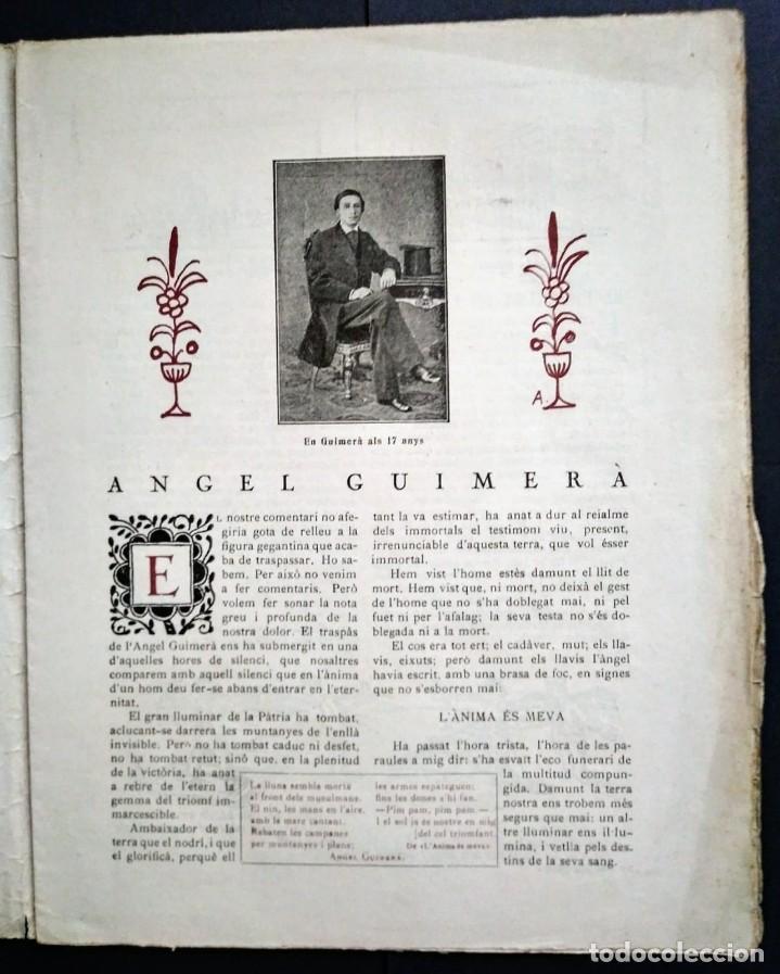Coleccionismo de Revistas y Periódicos: 1924 EL BORINOT Setmanari d,humor Ángel guimerá, La costa brava, Primer tren Barcelona Mataró - Foto 2 - 115574627