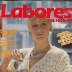 Coleccionismo de Revistas y Periódicos: REVISTA LABORES DEL HOGAR Nº 314 AÑO 1984. MODELOS DE PUNTO MUY RAPIDOS DE HACER. Lote 115586255