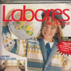 Coleccionismo de Revistas y Periódicos: REVSITA LABORES DEL HOGAR Nº 342. TODOS LOS JERSYS PARA EL COLE Y PARA TI. . Lote 115587211